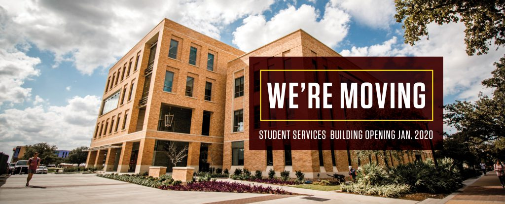 Student Services is Moving